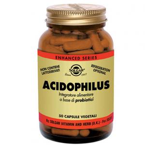 LOS PROBIÓTICOS SUPLEMENTOS DIETÉTICOS HERBALES SOLGAR ACIDOPHILUS AYUDA AL EQUILIBRIO DE LA FLORA INTESTINAL