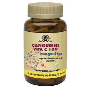 CANGURINI 100CPR CHEWABLE VIT C