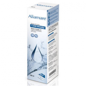 ALIAMARE SPRAY ISOTONIC SEA WATER AND HYALURONIC ACID FOR THE HYGIENE OF THE NOSE AND EARS