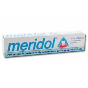 MERIDOL DENTIFRICIO 100 ML - FAVORISCE LA NATURALE RIGENERAZIONE DELLE GENGIVE IRRITATE E SANGUINANTI