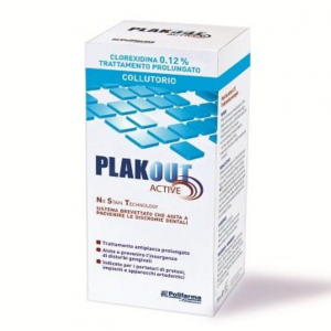 PLAKOUT 0.12% CHLORHEXIDINE MOUTHWASH-TREATMENT PROLONGED ANTI-PLAQUE