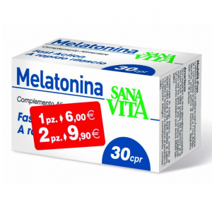 SANAVITA MELATONIN dietary SUPPLEMENT MELATONIN 1 mg