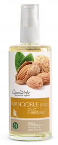 PURE SWEET ALMOND OIL 100 ml VEGAN OK
