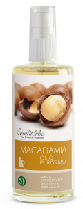 PURE MACADAMIA OIL 100 ml VEGAN OK