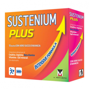 SUSTENIUM PLUS INTENSIVE FORMULA CREATINE, ARGININE, WITH VITAMINS AND MINERALS