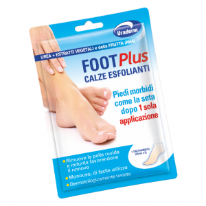 URADERM FOOT PLUS CALZE ESFOLIANTI