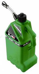 Tanica per benzina 15 lt. rifornimento rapido verde