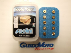 360.0004 KIT 10 GETTI 5 MM DA 80 AL 89 POLINI  SCALA 1