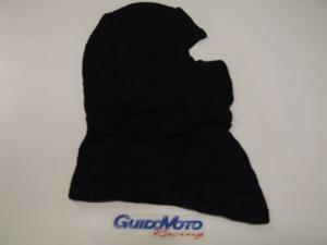 Sotto casco universale in seta elasticizzata nera