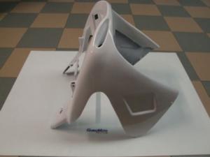 Scudo frontale anteriore bianco per Aerox-Nitro