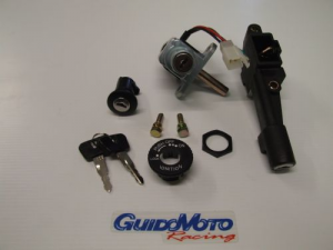 KIT SERRATURE COMPLETO PER SCOOTER MALAGUTI F12 PHANTOM GUI0010134