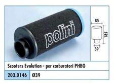 203.0146 FILTRO ARIA EVOLUTION 2 CARBURATORE PHBG POLINI