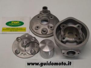 Gruppo termico top performance modello tpr in alluminio per piaggio gilera zip sp h2o