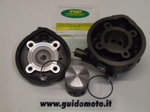 Gruppo termico TOP Black Trophy  Minarelli 70 CC SP.10 PREPARATO