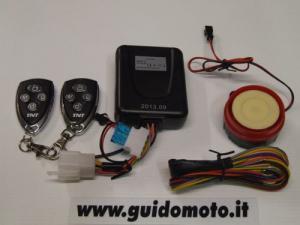 ANTIFURTO ELETTRONICO PER MOTO E SCOOTER 12V  GUI0010991