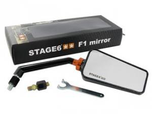 Specchio retrovisore Stage6 F1 destro carbon Look
