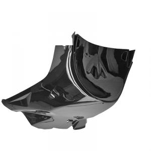 Sottopedana per scooter Mbk Nitro Yamaha Aerox nero metal GUI00402