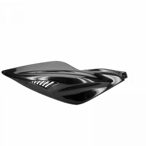 Fianchetto destro per scooter Mbk Nitro Yamaha Aerox nero neutro GUI00406