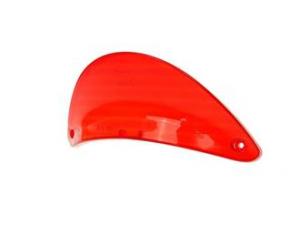 Plastica rossa per faro posteriore, agiliti 50, dj50s. originale kymco.