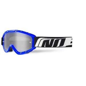 448400C MASCHERINA CROSS ENDURO NOEND 3.6 BLU