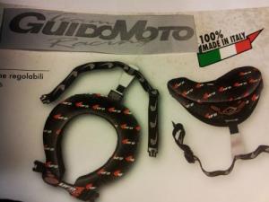 Supporto collo motocross ufo plast maggiorato regolabile