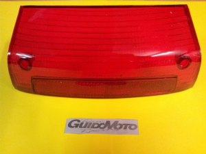 Plastica rossa per fanalino posteriore piaggio zip dal 1992