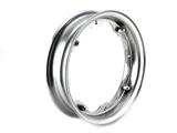 Cerchio ruote da 300, 350, x 10 grigio per lambretta li, lis, sx, dl, gp