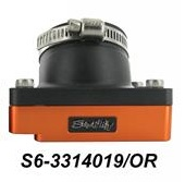 Collettore aspirazione con basetta stage-6 arancione per Piaggio  S6-3314019/OR
