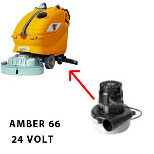 Amber 66 motore AMETEK aspirazione 24 volt