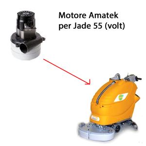 Jade 55 24 volt. Motore aspirazione lavapavimenti Adiatek