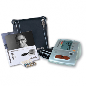 MICROLIFE BLOOD PRESSURE MONITOR with voice guidance, more SIMPLE and IMMEDIATE IN 4 LANGUAGES