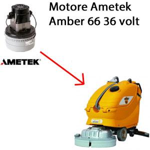 Amber 66 motore aspirazione AMETEK  36 volt