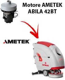 ABILA 42BT MOTORE AMETEK  aspirazione lavapavimenti Comac