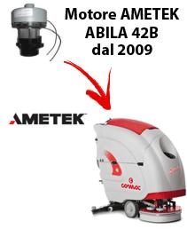 ABILA 42B MOTORE AMETEK  (dal 2009) aspirazione lavapavimenti Comac