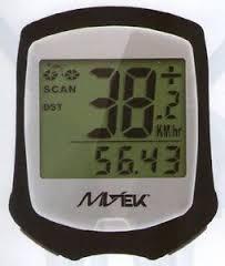 Ciclocomputer per bicicletta 9 funzioni