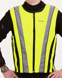 Gilet alta visibiltà  giallo fluorescente elasticizzato tg. M