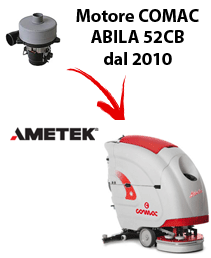 Motore Ametek per lavapavimenti ABILA 52CB 2010 (dal numero di serie 113002718)
