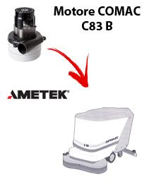 C83 B MOTORE AMETEK aspirazione lavapavimenti Comac