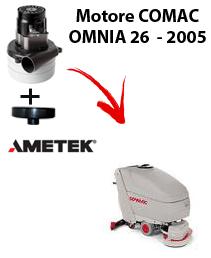 OMNIA 26 - 2005 VERSION MOTORE AMETEK aspirazione lavapavimenti Comac
