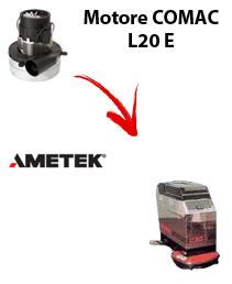 L20 E  MOTORE AMETEK aspirazione lavapavimenti Comac
