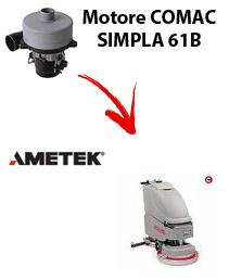 SIMPLA 61B  MOTORE AMETEK aspirazione lavapavimenti Comac