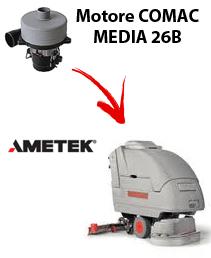 MEDIA 26B  MOTORE AMETEK aspirazione lavapavimenti Comac