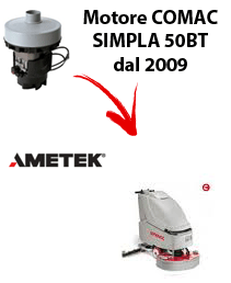 SIMPLA 50BT dal 2009 MOTORE AMETEK aspirazione lavapavimenti Comac
