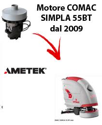 SIMPLA 55BT dal 2009 MOTORE AMETEK aspirazione lavapavimenti Comac