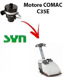 C35 E MOTORE SYN aspirazione lavapavimenti Comac