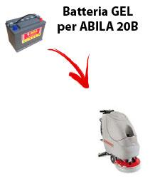 BATTERIA per ABILA 20B lavapavimenti COMAC