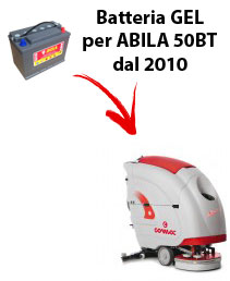 BATTERIA per ABILA 50BT lavapavimenti COMAC DAL 2010