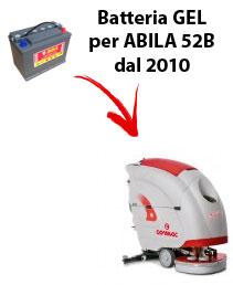 BATTERIA per ABILA 52B lavapavimenti COMAC DAL 2010