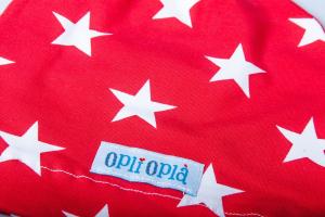 Cappello 1 Nodo Rosso Stelle