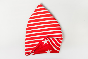 Cappello Double Face Rosso Stelle/Righe